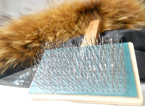 Покрасить натуральный мех краской для волос длить
