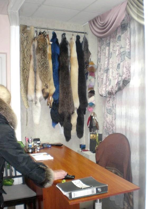 Покраска меховых изделий в Москве изделие