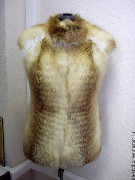Пошив жилета из меха пошив
