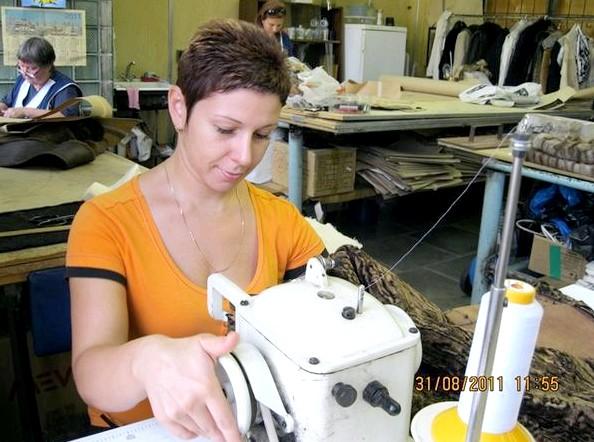 Работа в меховом ателье изделий меха