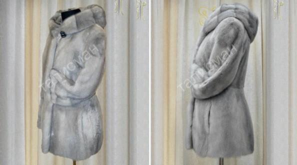 Реставрация шубы из норки в Москве норка