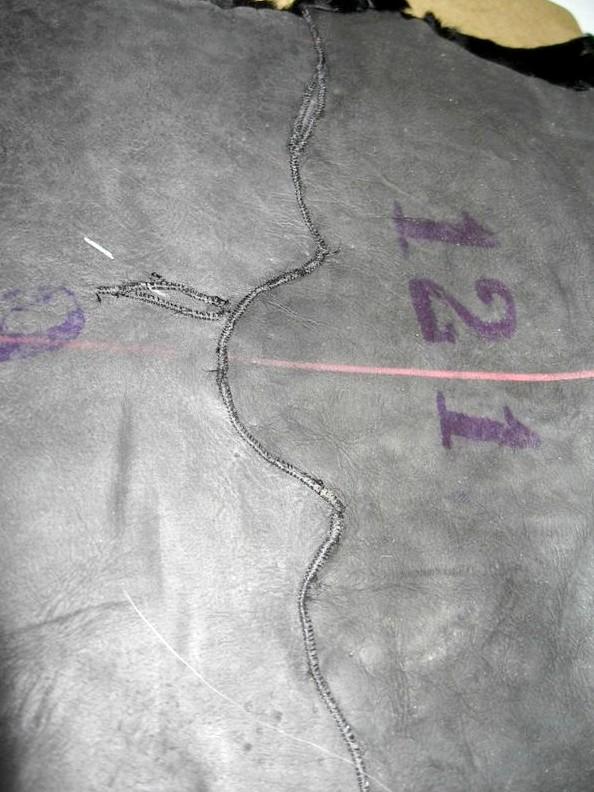 Шитье меха искусственного меха